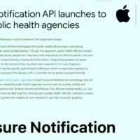 アップル・グーグル感染追跡アプリのAPI正式リリース プライバシーに配慮