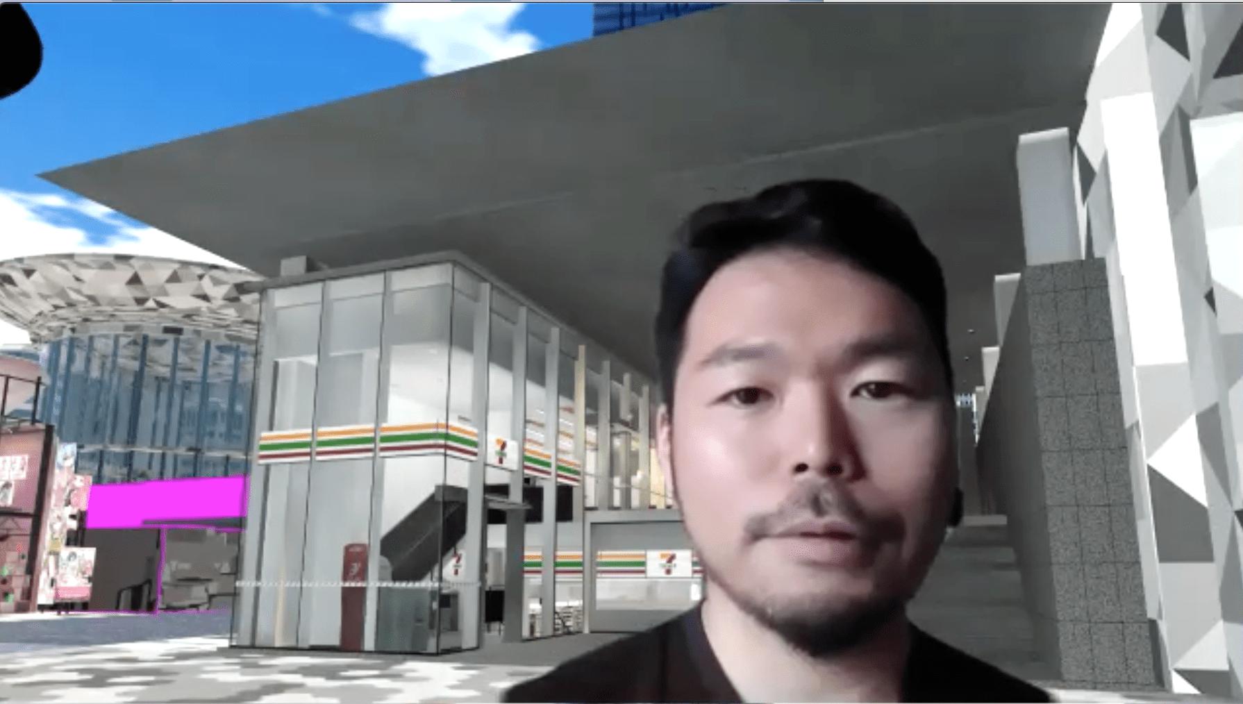 バーチャルマーケットを主催する株式会社HIKKYの代表取締役・舟越靖氏