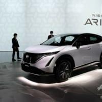 日産、新型EVで「新しい扉」開く ロゴも刷新