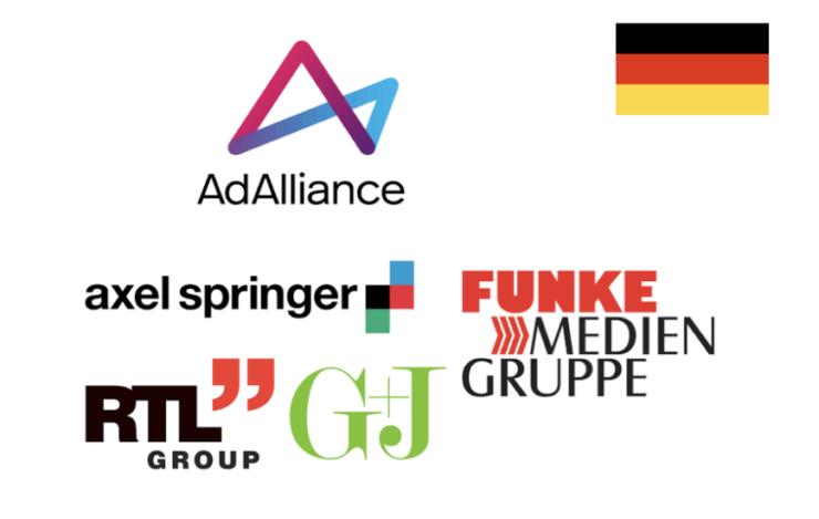 ドイツのアドアライアンスには同国の4メディアグループの100媒体以上が参加