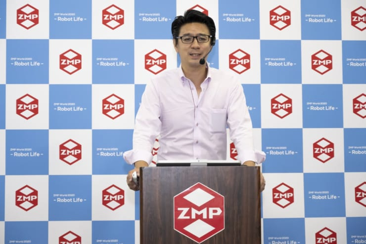 ZMPロボライフ事業部長の龍健太郎氏