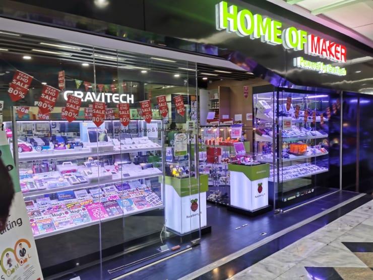 バンコク中心部のショッピングモールに店舗とコンサルティング事務所を開設