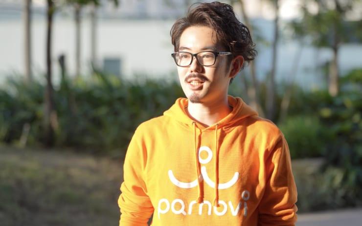 株式会社parnovi 代表取締役の遠藤氏