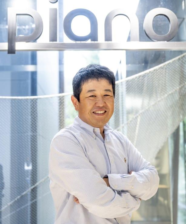 PIANO Japan オフィスにて 同社代表取締役社長 江川亮一氏
