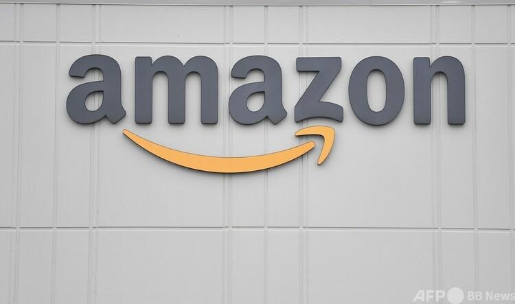 米ニューヨークのアマゾン配送センター(2020年3月20日撮影、資料写真)。(c)Angela Weiss : AFP