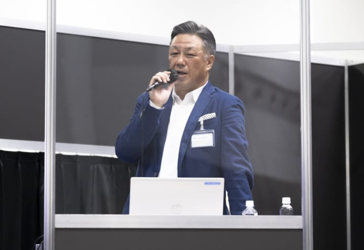 エアモビリティ代表取締役兼CEOの浅井氏