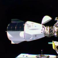 野口さん搭乗の宇宙船、ISSにドッキング成功