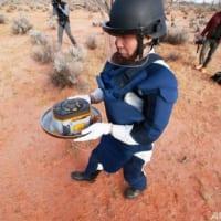 「はやぶさ2」カプセルが地球帰還 小惑星の試料採取