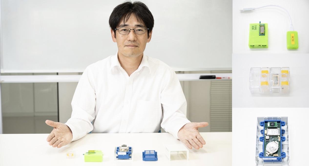 モイスチャーセンサの各種計測モジュールを紹介する合同会社アキューゼ代表(CTO)の川喜多仁氏