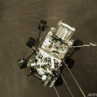 NASAが「火星の音」初公開 探査車の着陸映像も