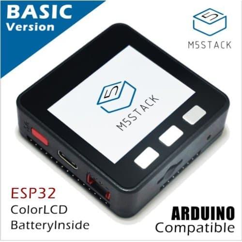 M5Stack Basic。IoT開発を加速する、様々な機能をパッケージにした開発ボード
