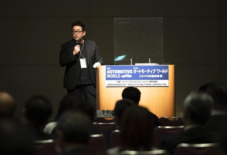 「不動産×MaaS」の取り組みについて説明する川路氏