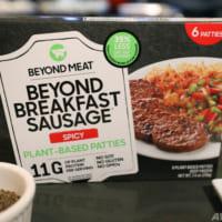 代替肉ビヨンド・ミート、マクドナルドとKFC親会社との提携発表