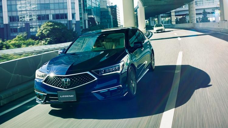 LEGEND Hybrid EX・Honda SENSING Elite(リリースより)