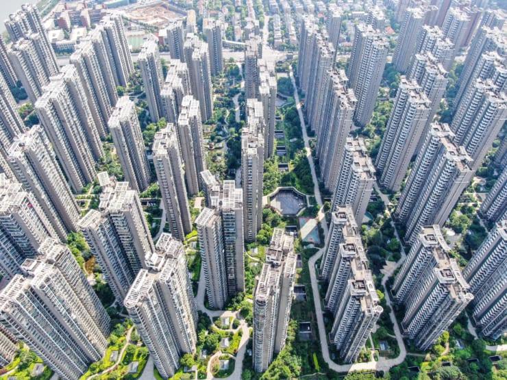 次々と進むマンション建設。価格も年々高騰している