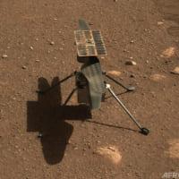 NASAの火星ヘリ、ローターの回転試験成功 初飛行へ