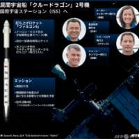【図解】星出さん乗せたクルードラゴン2号機、ISSへ