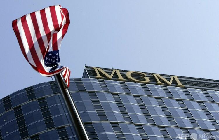 米カリフォルニア州センチュリーシティーにある映画会社MGMの本社(2004年9月13日撮影)。(c)Robyn BECK : AFP