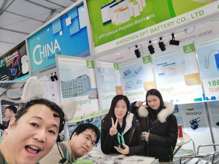 CES2020での中国企業ブース、同じような製品を作っている会社が並ぶ