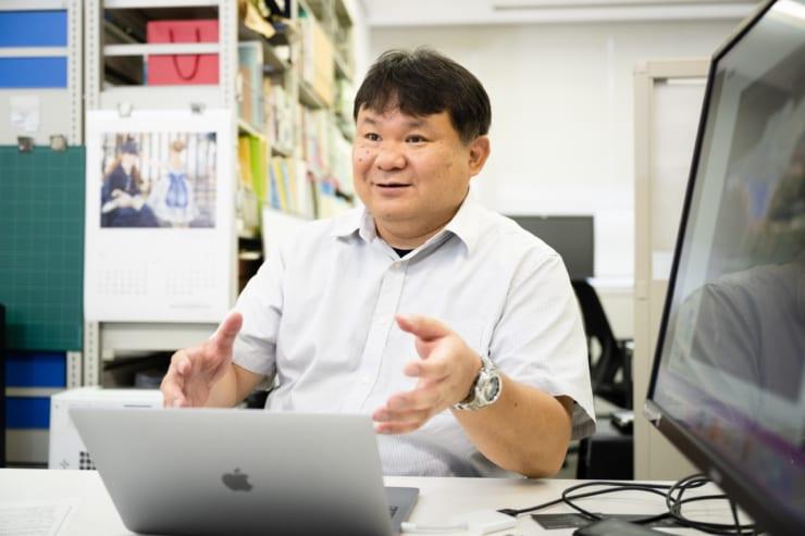 「3次元地質地盤図」の作成手法を説明する中澤氏