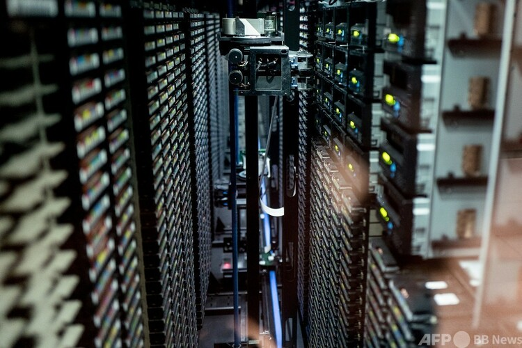 スーパーコンピューター(2021年6月2日撮影、資料写真)。(c)Fred SCHEIBER : AFP