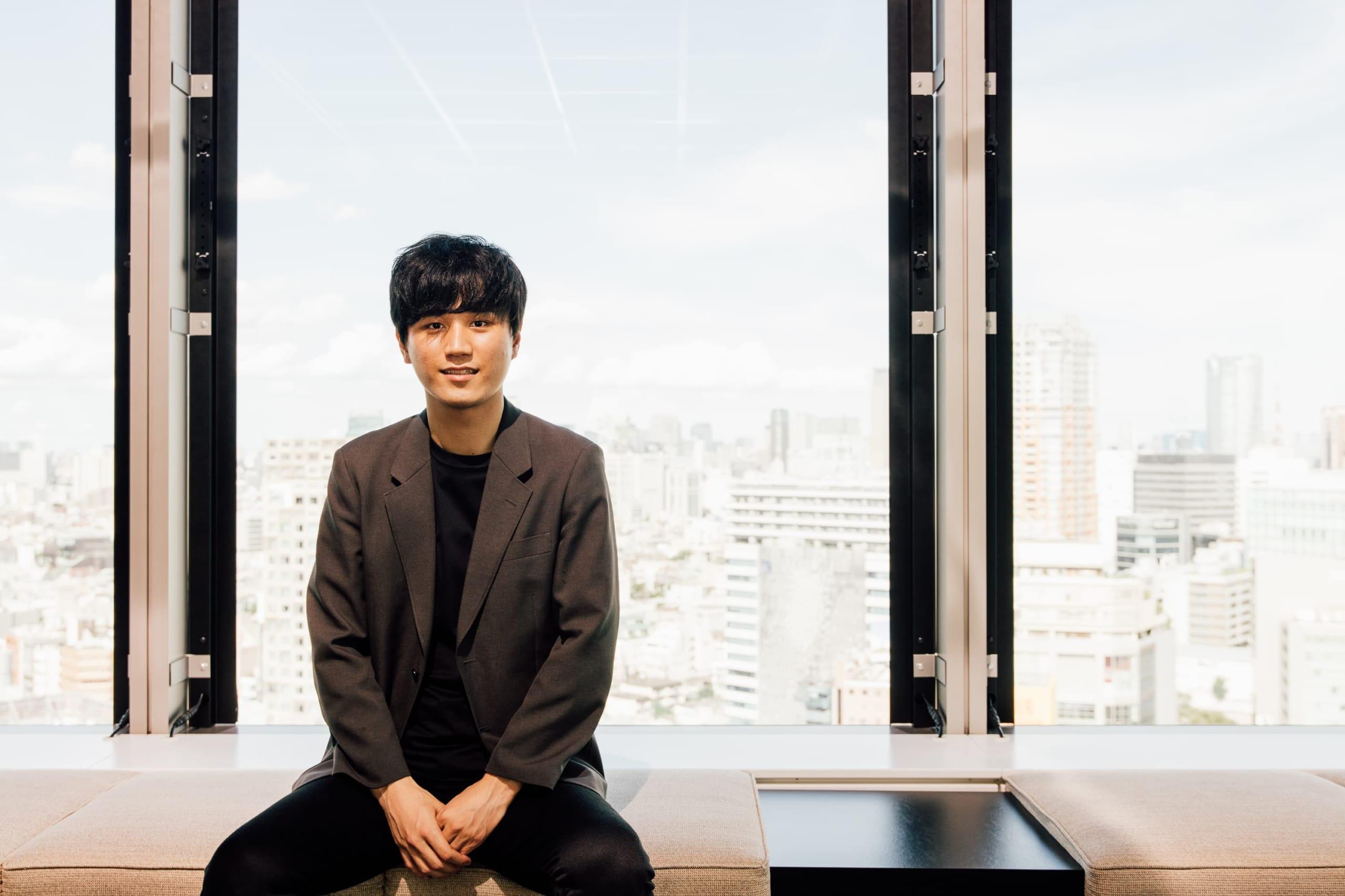 「そうぞくドットコム不動産」を運営するAGE technologies 代表取締役CEOの塩原優太氏(写真:taisho)