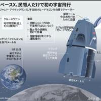 【図解】米スペースX、民間人だけで初の宇宙飛行