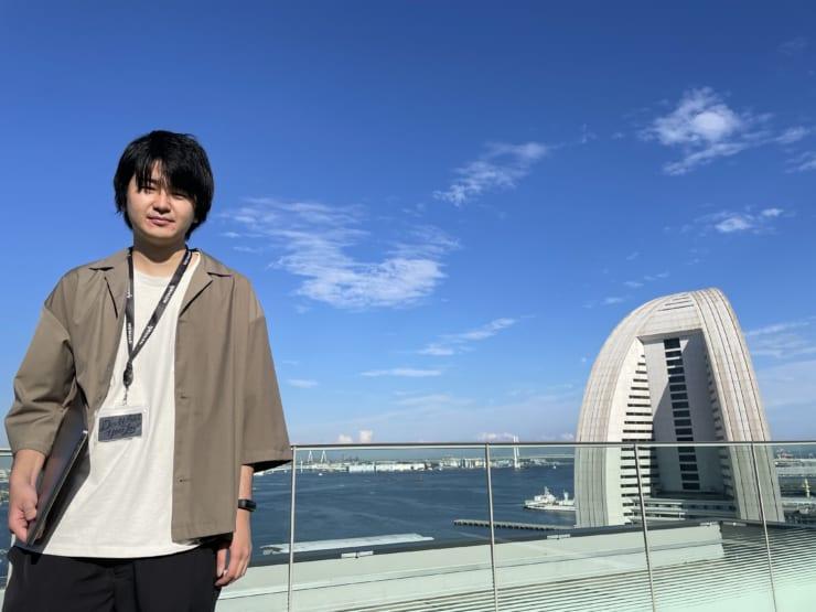 DayRoom代表取締役の林和正氏(WeWork オーシャンゲートみなとみらいにて)