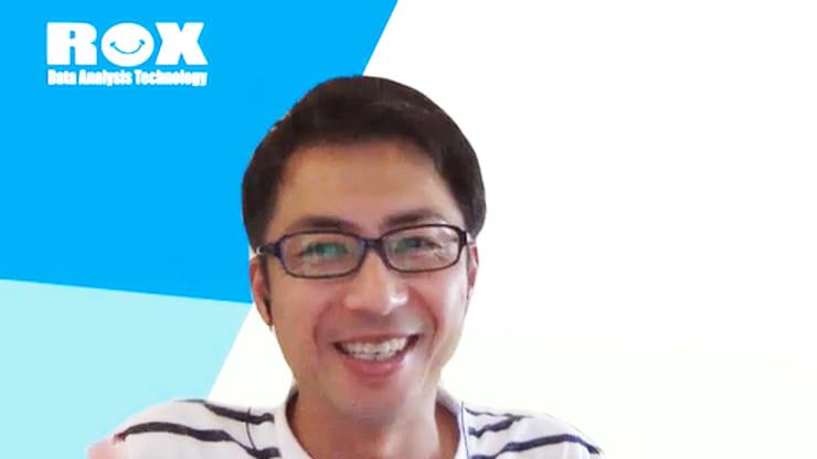 インタビューに答えるROX中川氏